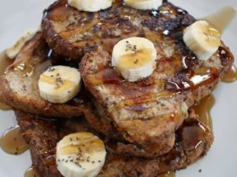 Banana Chia French Toast