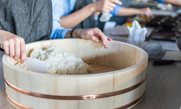 Easy Sushi Rice