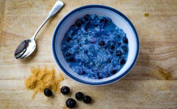 Blueberry Vegan Ice Cream