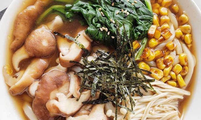 Vegan Japanese Udon Noodle Soup Recipe Veggums