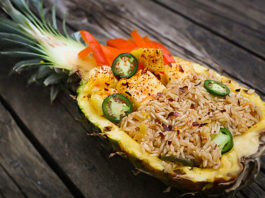 Jalapeno Pineapple Fried Rice Bowls
