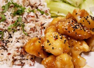 General Tso's Cauliflower