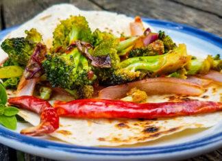 Spicy Broccoli Tacos