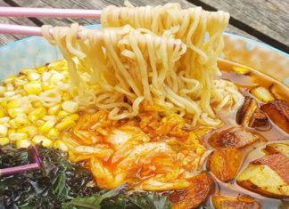 Loaded Ramen Noodle Bowl