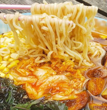 Loaded Ramen Noodle Bowl